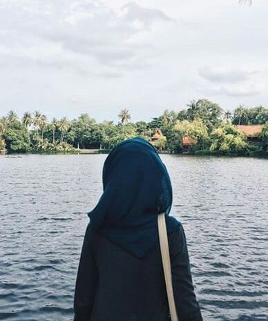 hijab, modest, and pier afbeelding