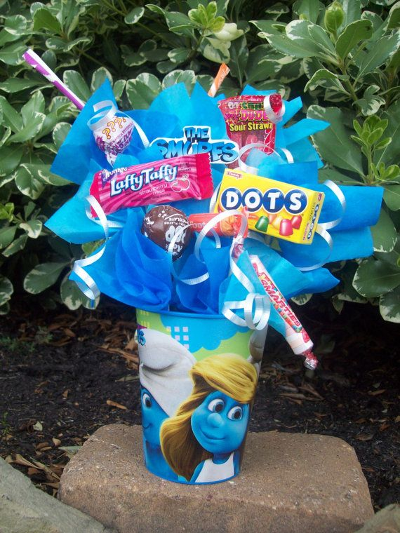 The Smurfs Kids Candy Party Favors