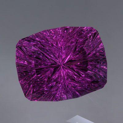 Vivid Amethyst With The Unique Quot Starbrite Quot Cut Gemstones