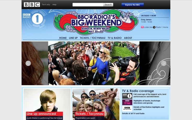 Radio 1 Big Weekend, 26th April 2010