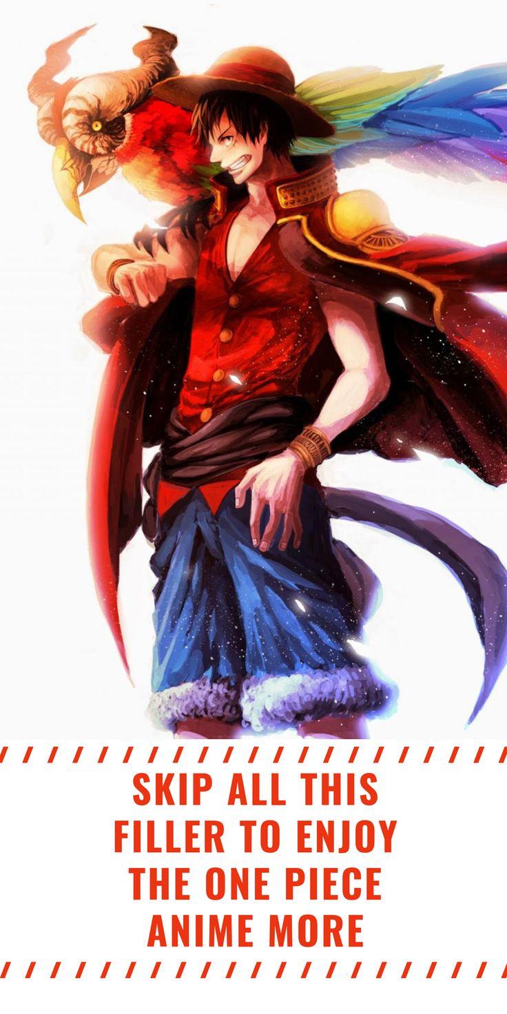 Ultimate One Piece Filler List One piece anime, Anime