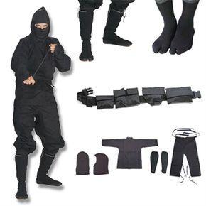 Shinobi Ninjutsu Stealth Ninja Uniform Gift Set For Sale   All Ninja Gear: Largest Selection of Ninja Weapons   Throwing Stars   Nunchucks