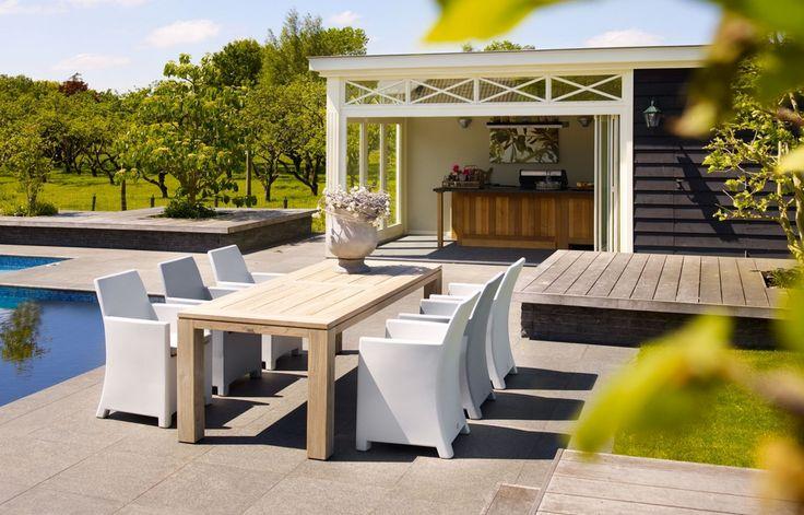 Life Outdoor tuinmeubelen - furniture - diner - tafel - tuintafel - table - set <3 #Fonteyn