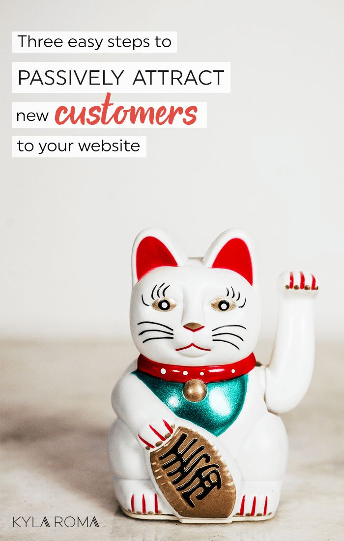 Three steps to passively attract new customers to your website (and optimize your website's SEO without paying someone a ton of money to do what you can do on your own!)