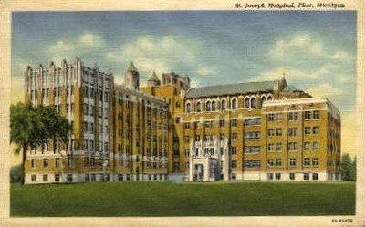 St. Joseph's Hospital - Flint.  I had a couple ER visits here because it was closer to my childhood home off E. Court St.