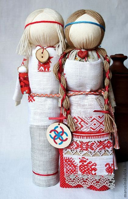 """Народные куклы ручной работы. Ярмарка Мастеров - ручная работа Кукла - оберег """"Свадебник"""". Handmade."""