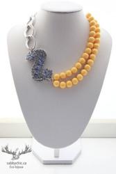 Collier Miss Sunshine (bijou #62) 33$ Shop online : www.sabbychic.ca