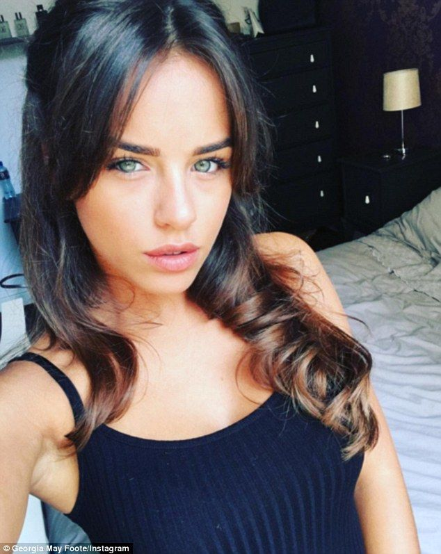 Honest:  Georgia May Foote has revealed that she's likely to get jealous when…