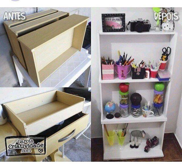Reciclando gavetas