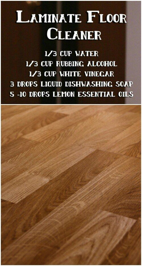 Create Your Own Laminate Floor Cleaner