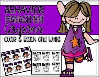 Behavior coupons (Use within my behavior system)