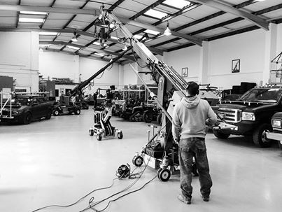 The 20ft Hydrascope Telescopic Crane hard at work! Crane operators Lawrence Bewsher and Ben Cozens. — with Lawrence Bewsher. http://www.chapmanleonard.com/telescopic_cranes/20Hydrascope.html