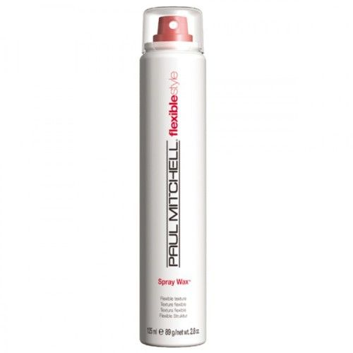 Paul Mitchell Spray Wax for flexible texture, and flexible style.
