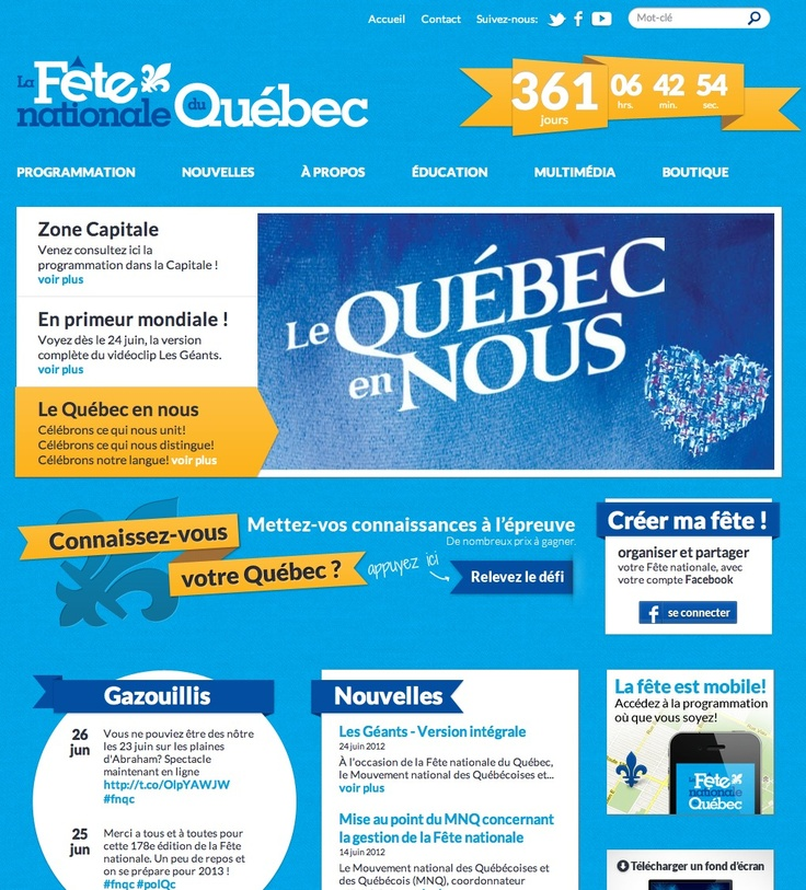 fete nationale quebec origine