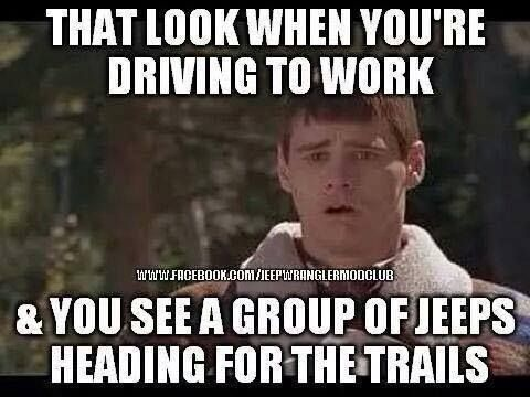 Those are sad days, but luckily we can help give you back your smile by ordering new #Jeep mods, parts, gear and accessories! http://jeepwranglermods.com OIIIIIIO