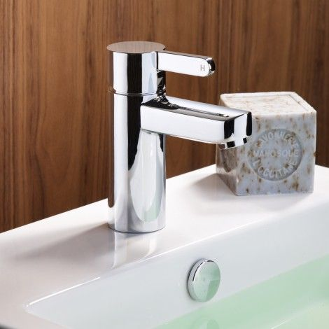 Insight basin mixer with click waste | Roper Rhodes