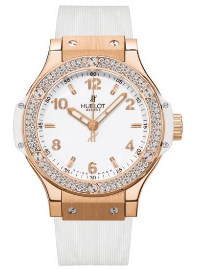 Hublot - Big Bang Gold White Diamonds | EMWA - Relojes Cartier, Hublot, IWC y más joyería de lujo.
