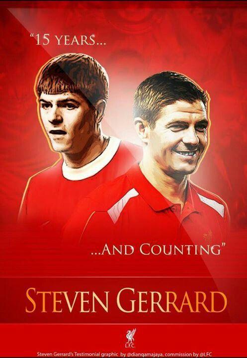 """Cut my veins open and I bleed Liverpool red""-Steven Gerrard"