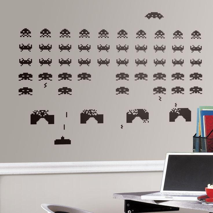 Space Invaders - VINILOS DECORATIVOS