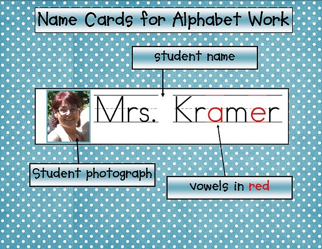 building letter recognition skills with name activities