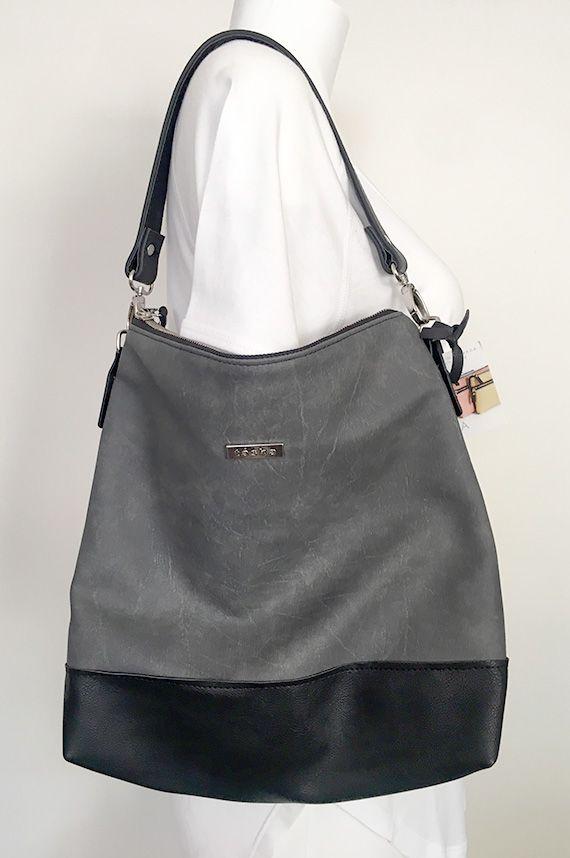 Vegan Leather Handbag Made In Canada Hobo Bag Cross Body