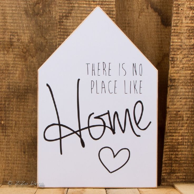 Dots Lifestyle Huis XL - There Is No Place Like Home -