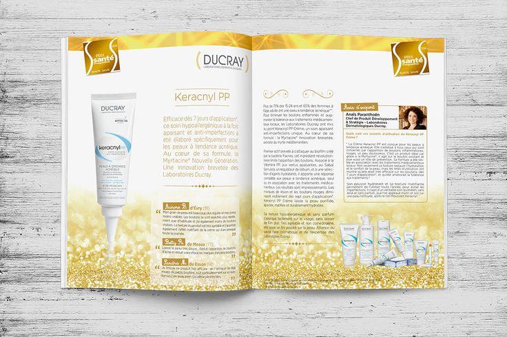 Agence Wouaille ! | Annonce Presse / Encart Publicitaire | Conception Annonce Presse / Encart Publicitaire | Santé magazine