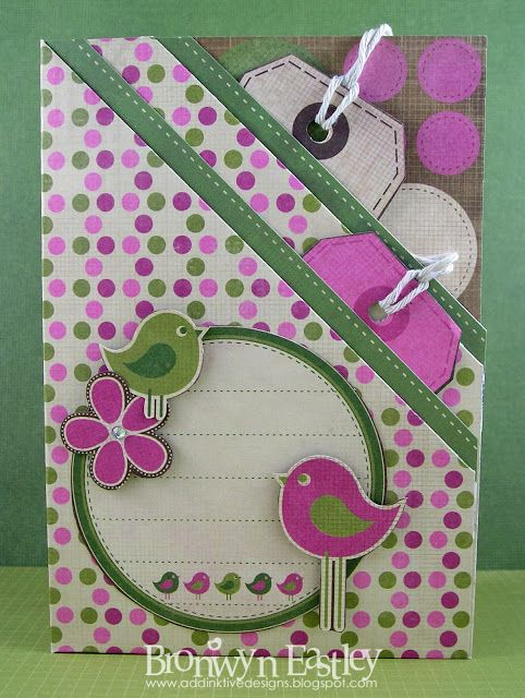 addINKtive designs: Double Pocket Cards with Tags