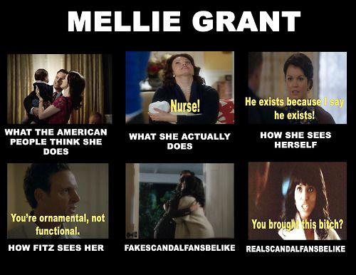 Scandal Meme - Mellie Grant