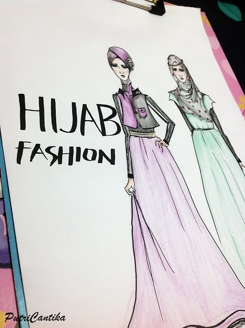 #hijab #illustration