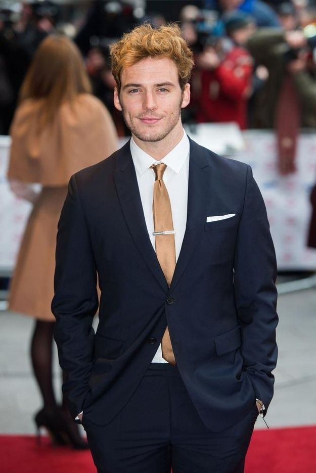 "And anything WITH sleeves. | 31 Reasons Sam Claflin Is The ""Hunger Games"" Tribute Of Your Dreams"