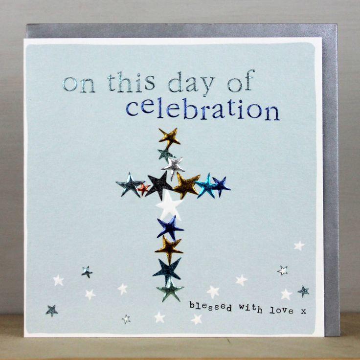 Card For Christening, Baptism Or Confirmation Cards