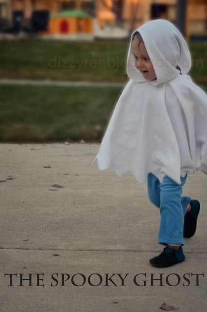 Spooky Ghost Costume {tutorial and pattern}
