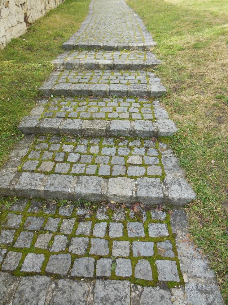 Treppe, Heidenheim, Schloss Hellenstein