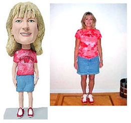 for the person who has everything...and we all know one of those- A CUSTOM BOBBLE HEAD! :-): Bobblehead