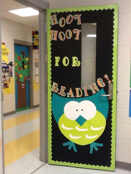 Math Classroom Door Decoration Ideas ~ Best ideas about owl classroom door on pinterest