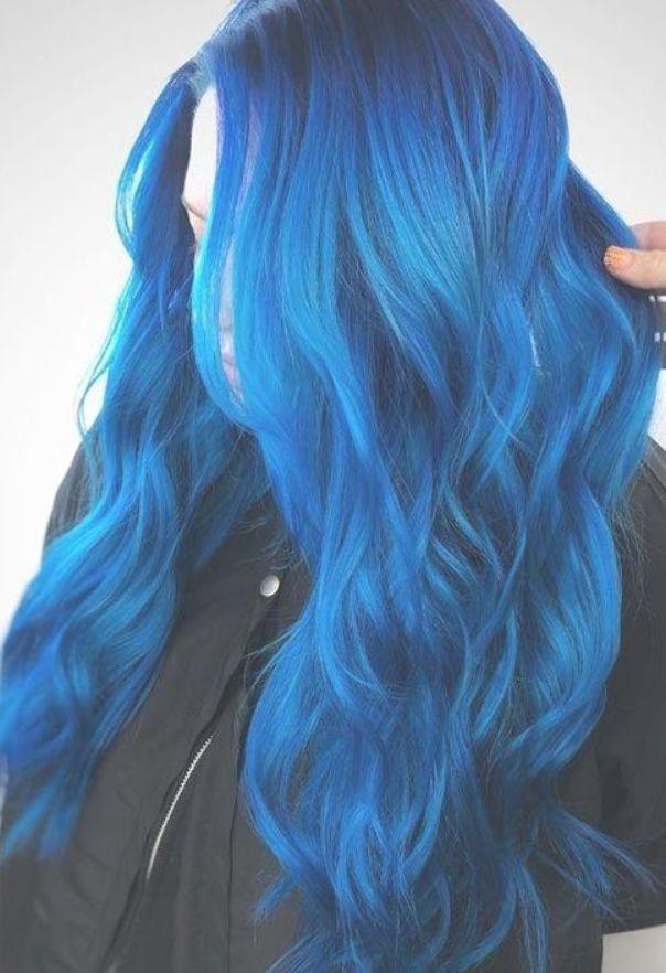 Blue Hair Dye Maintenance Tips Dyed Hair Blue Hair Color Blue