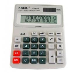 CALCULADORA KENKO KK-812V  Calculadora 8 dígitos;  Operações básicas;  Raiz quadrada;  Porcentagem.