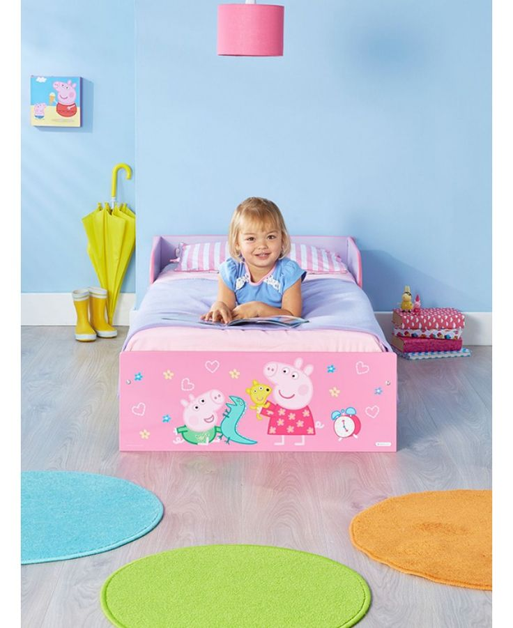 peppa pig toddler bed assembly instructions