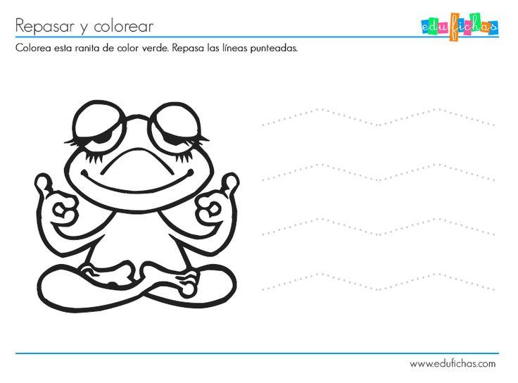 Colorear Dibujos Ninos 3 Anos: Actividades 2 Años Gratis