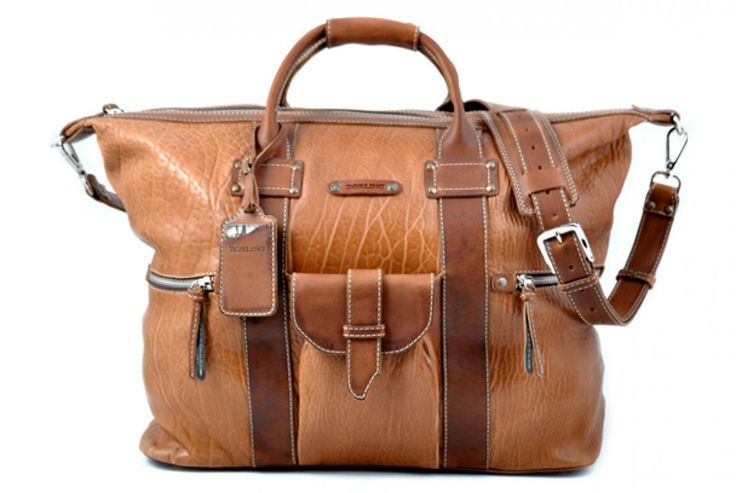 This Terra Big Horn Weekender Duffel is simply a stunning piece of luggage. Hand-crafted of the finest Italian, vegetable-tanned Terra Buffalo and Vachetta leathers, the Borlino Big Horn is perfect for a weekend getaway in Aspen or Miami.