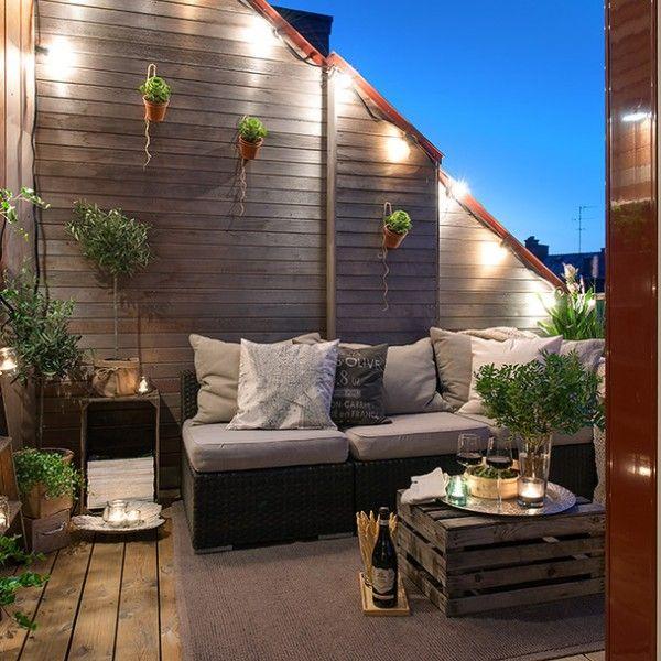 balkongestaltungmoderngestalten Wohnung balkon