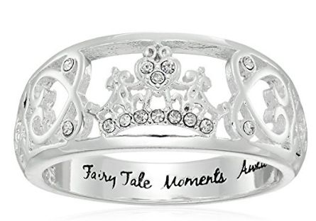 Disney Discovery- Fairy Tale Moments Await Cinderella Ring
