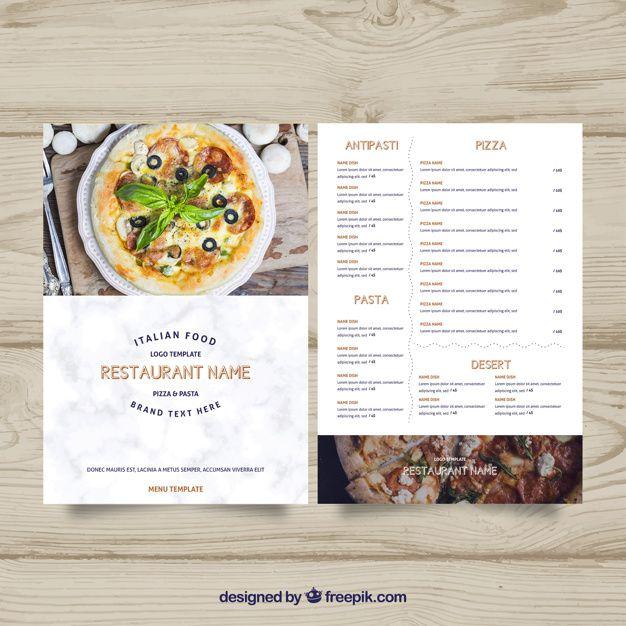 Download Pizza Menu Template For Free Pizza Menu Menu Template