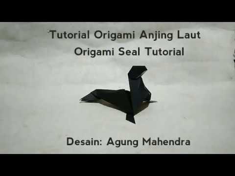 Origami Seal Tutorial (Agung Mahendra)