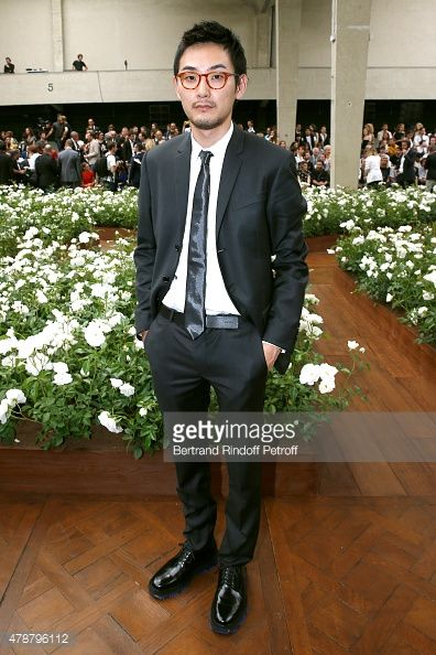 Actor Ryuhei Matsuda attends the Dior Homme Menswear Spring/Summer 2016 show as part of Paris Fashion Week on June 27, 2015 in Paris, France. 松田龍平