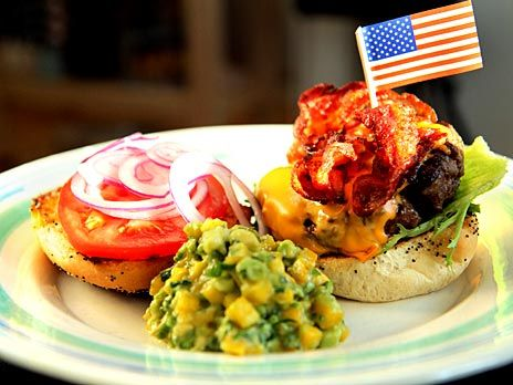 New Mexico burger med bacon | M A T | Pinterest