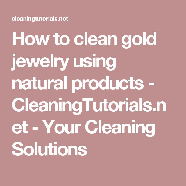 Best 25 Clean gold jewelry ideas on Pinterest