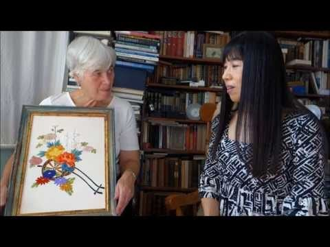 ▶ Let's learn Japanese Embroidery in Manchester! - YouTube