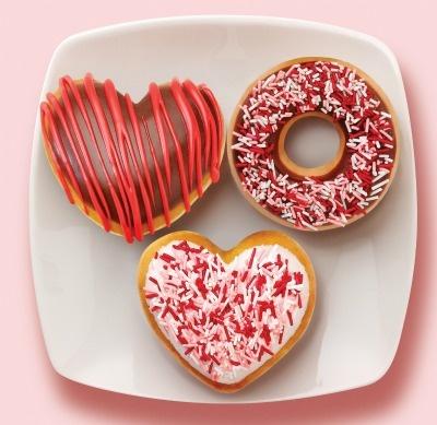 valentine doughnuts